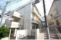 東京都世田谷区、下北沢駅徒歩13分の築40年 3階建の賃貸マンション