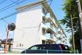 東京都調布市、つつじヶ丘駅徒歩15分の築46年 3階建の賃貸マンション