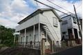 千葉県松戸市、新松戸駅徒歩11分の築30年 2階建の賃貸アパート