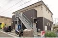 千葉県松戸市、東松戸駅徒歩18分の築5年 2階建の賃貸アパート