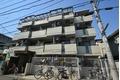 神奈川県川崎市中原区、武蔵小杉駅徒歩15分の築28年 4階建の賃貸マンション