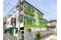 東京都調布市、つつじヶ丘駅徒歩10分の築28年 3階建の賃貸アパート