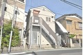 神奈川県川崎市中原区、平間駅徒歩14分の築23年 2階建の賃貸アパート