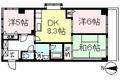 東京都世田谷区、経堂駅徒歩21分の築27年 3階建の賃貸マンション