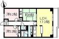神奈川県川崎市多摩区、中野島駅徒歩8分の築28年 6階建の賃貸マンション